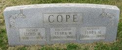 Flora Odell <I>Marker</I> Cope