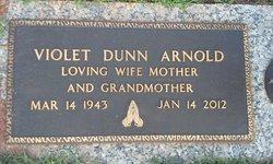 Violet H. <I>Dunn</I> Arnold
