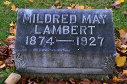 Mildred May <I>Williams</I> Lambert