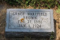 Grace <I>Wakefield</I> Brown