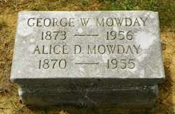 Alice D Mowday