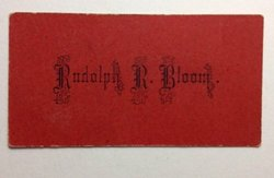 Rudolph Richard Bloom