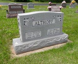 Eda Belle <I>Arnold</I> Althoff