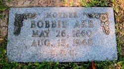 """Bobbie"" <I>Arp</I> Ake"