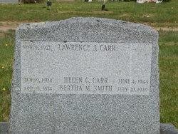Lawrence J Carr