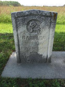 Barbara Hinsch