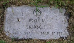 Rose Margaret <I>Mackey</I> Kirsch
