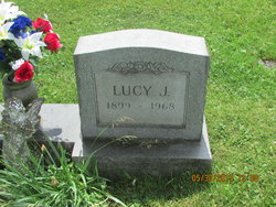 """Lucille Jane """"Lucy"""" <I>Price</I> Eddy"""