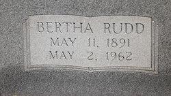 Bertha Elizabeth <I>Rudd</I> Simmons