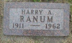 Harry Arthur Ranum
