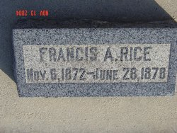 Francis Albert Rice