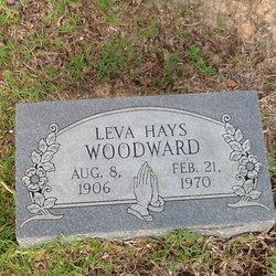Leva <I>Hays</I> Woodward