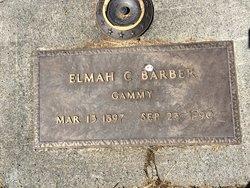 Elmah Elizabeth <I>Carothers</I> Barber