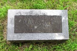 Fannie <I>Blain</I> Longshore