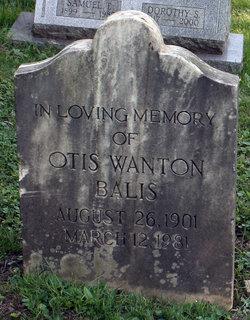 Otis Wanton Balis