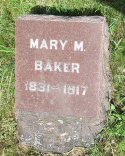 Mary M <I>Johnston</I> Baker