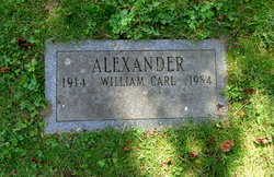 William Carl Alexander