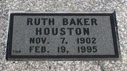 Ruth <I>Baker</I> Houston