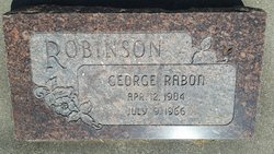 George Rabon Robinson
