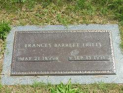 Frances May <I>Barrett</I> Fritts