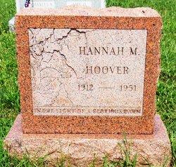 Hannah Mary <I>Krebs</I> Hoover