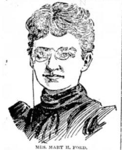 Mary Hanford <I>Finney</I> Ford