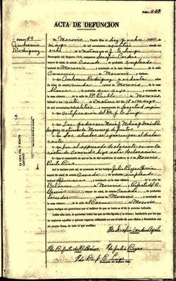 Ambrocia María <I>Rodríguez Y Molina de</I> Pagán