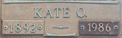 Effie Kate <I>O'Kelley</I> Walker