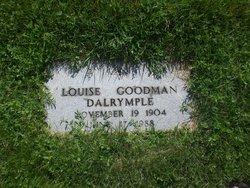 Louise <I>Goodman</I> Dalrymple
