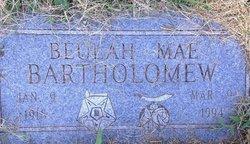 Beulah Mae <I>Hard</I> Bartholomew