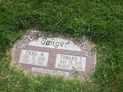Emma M. <I>Schmitt</I> Sanger