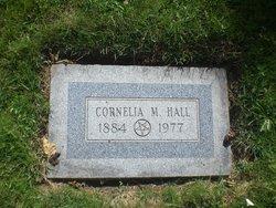 Cornelia May <I>Hall</I> Hall