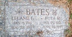 Ruth E <I>Maycroft</I> Bates