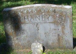 "Margaret Elizabeth ""Maggie"" <I>Webb</I> Haney"