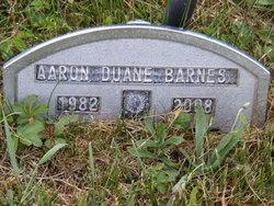 Aaron Duane Barnes