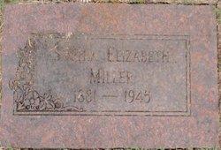 Sophia Elizabeth <I>Maytubby</I> Miller
