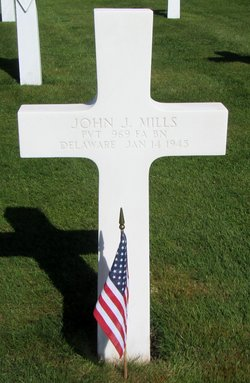 Pvt John James Mills