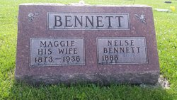 """Sarah Margaret """"Maggie"""" <I>Wilson</I> Bennett"""