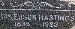 Joseph Edson Hastings