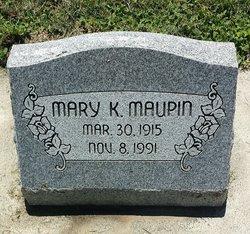 Mary K Maupin