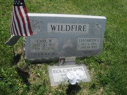 "Elizabeth L ""Betty"" <I>Woodley</I> Wildfire"