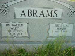 "James Walter ""Walt"" Abrams"