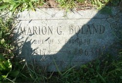Marion <I>Boland</I> Abdallah