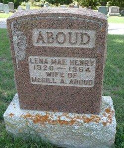 Lena Mae <I>Henry</I> Aboud