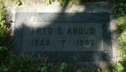 Frederick G Aboud
