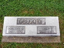 Homer F Gregory