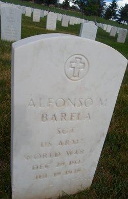 Alfonso M Barela