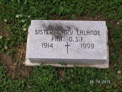 Sr Mary Lalande Pint