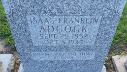 "Isaac Franklin ""Frank"" Adcock"