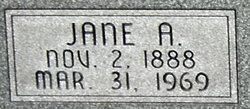 Jane A. Morgan